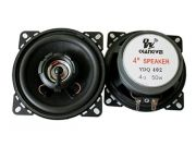 "4 Ohm,  50W 2-way 4"" YD402 Двулентов, 1 брой,"